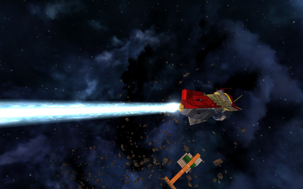 【Avorion】村雨級宇宙巡洋艦 艦首陽電子衝撃砲