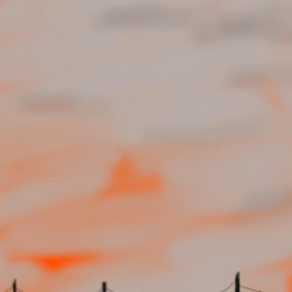 57日目 今日の夕焼け