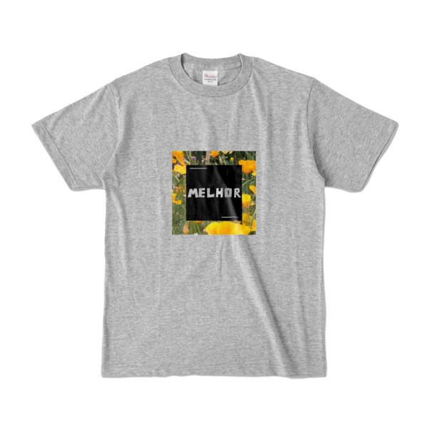 Tシャツ   杢グレー   MELHOR☆Flower_Square