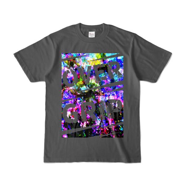 Tシャツ | チャコール | OverGrip巻いてますか?