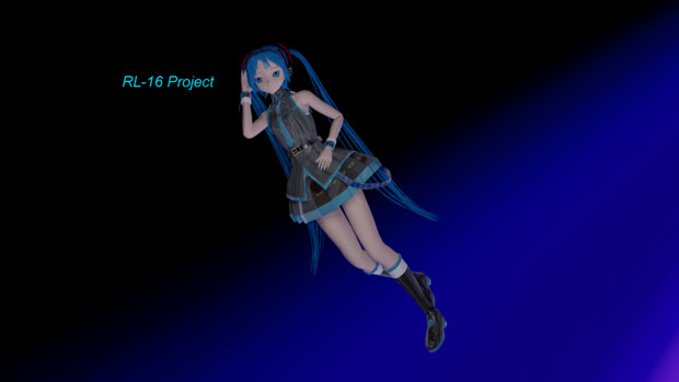 Hatsune Miku Blender Blue World