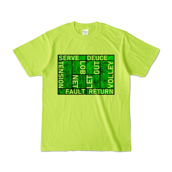 Tシャツ | ライトグリーン | Super☆MixTennis