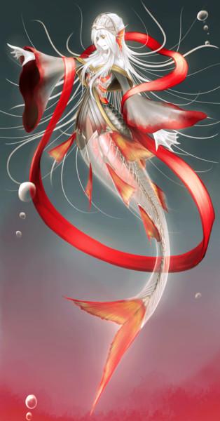 冥界の人魚