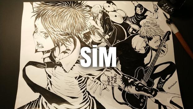 SiM - MAH,SHOW-HATE,SIN,GODRi - 邦ロックファンアート2020