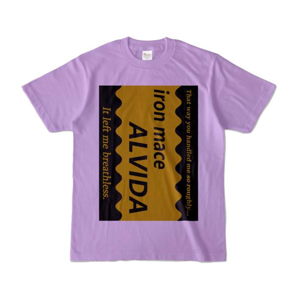 Tシャツ   ライトパープル   Alvida_COFFEE☆Sweet