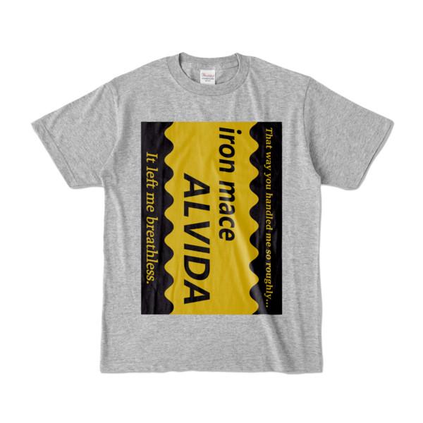 Tシャツ   杢グレー   Alvida_COFFEE☆Sweet