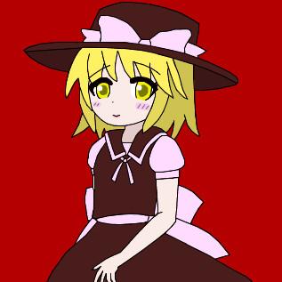 真紅の少女ユキちゃんです