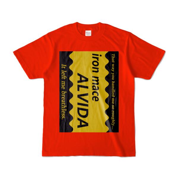 Tシャツ | レッド | Alvida_COFFEE☆Sweet