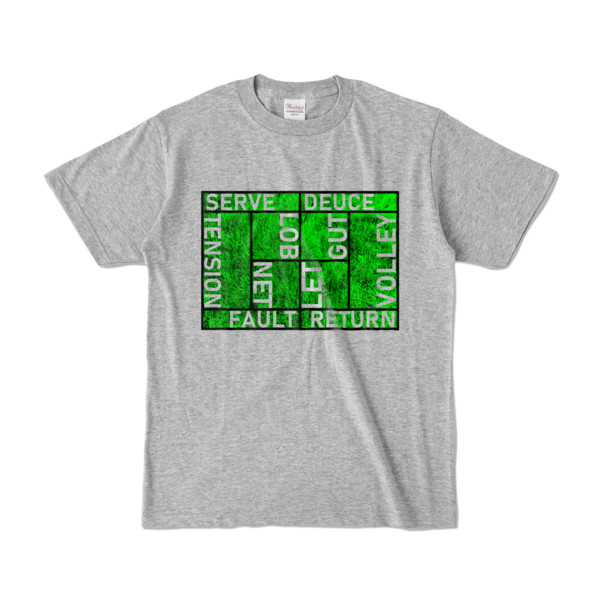 Tシャツ   杢グレー   Super☆MixTennis