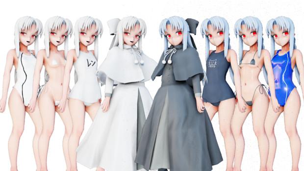 【MMD月姫】レンVer1.00【モデル配布】