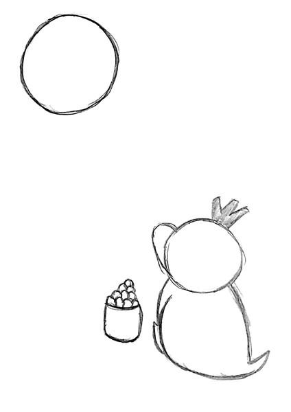 あの大きなだんご美味しいのかな?