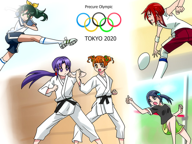 オリンピック☆プリキュア!