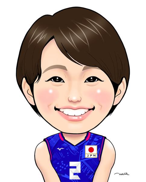 古賀紗理那選手(東京2020ユニVer.)