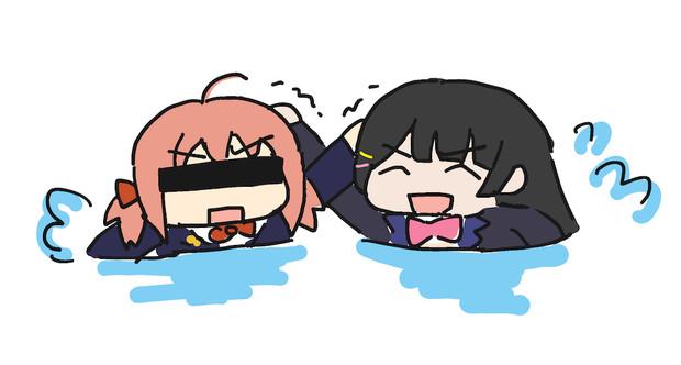委員長とARu子