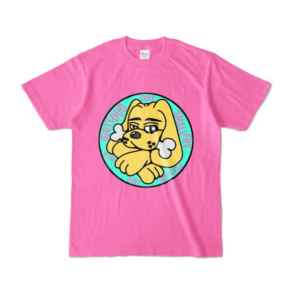 Tシャツ | ピンク | DIRTY♀ワンちゃん
