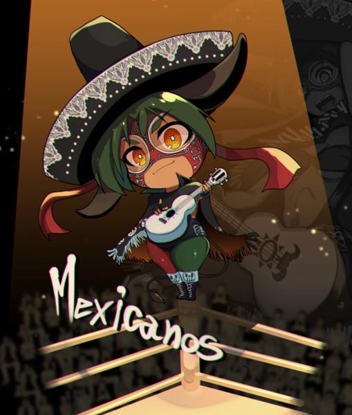 メキシコ (国擬人化SD)