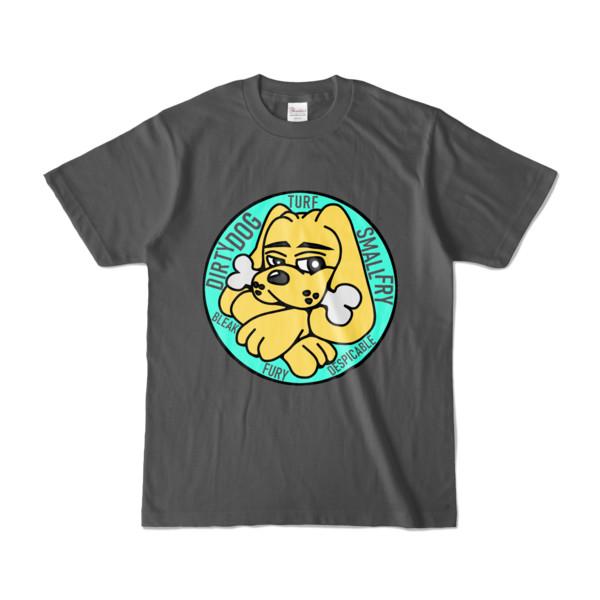 Tシャツ   チャコール   DIRTY♀ワンちゃん