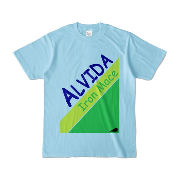 Tシャツ   ライトブルー   Alvida_Soda☆Melon