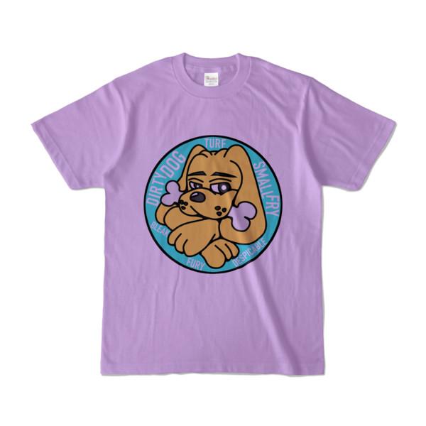Tシャツ | ライトパープル | DIRTY♀ワンちゃん