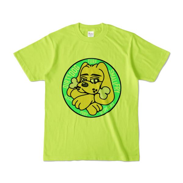 Tシャツ   ライトグリーン   DIRTY♀ワンちゃん