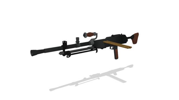 伍長式試製三式軽機関銃 ver1.00配布
