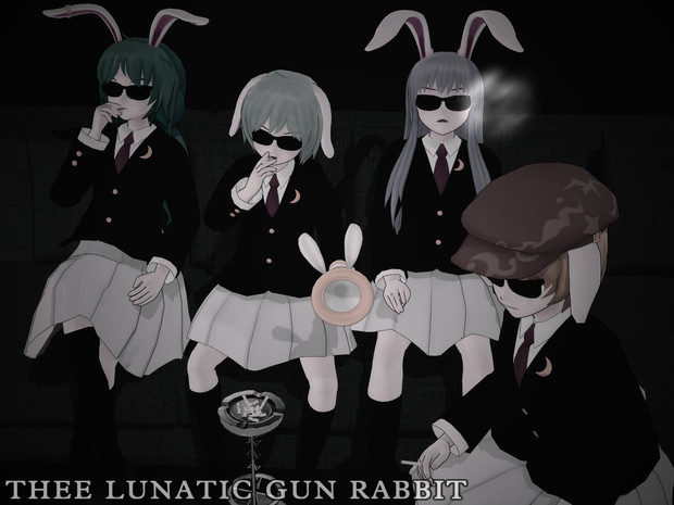 THEE LUNATIC GUN RABBIT