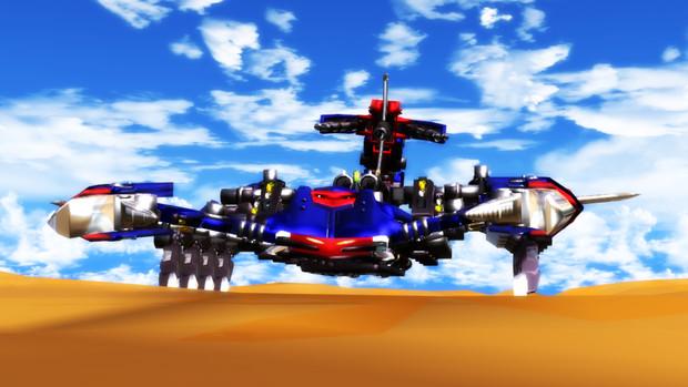 悪夢の戦闘機械獣