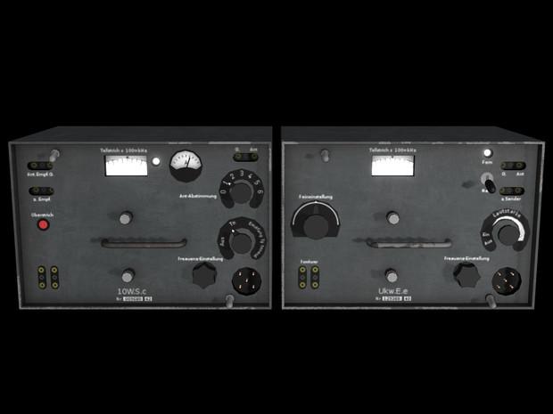 【MMDモデル配布】 LA6NCA 無線機