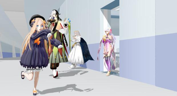 カルデア廊下 in 悪い子組 +α