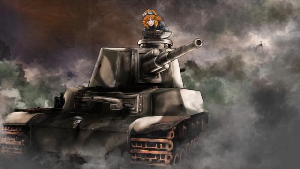 WoTゆっくり実況動画にて使用した戦車絵