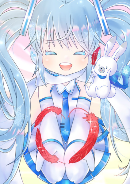 Red Heart from Miku