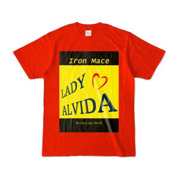 Tシャツ   レッド   Alvida_Yellow☆Kiss