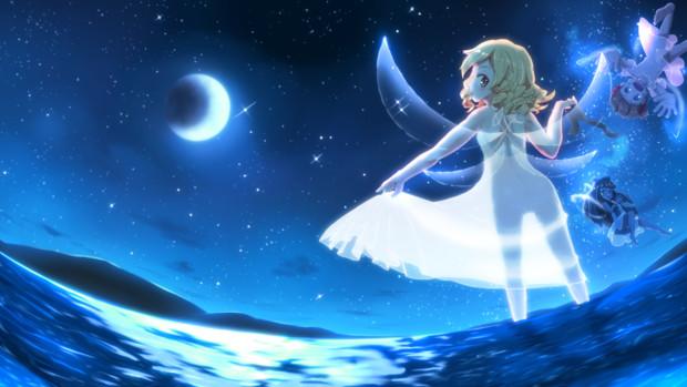 静かなる月の光