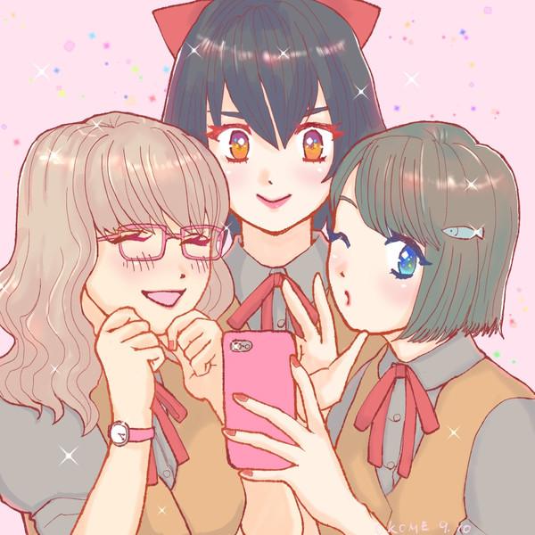 女子高生3人組
