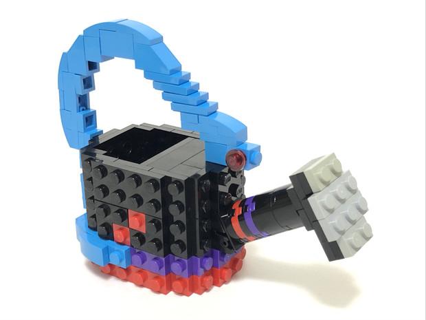 レゴと化した培養土入りぬえちゃんじょうろ