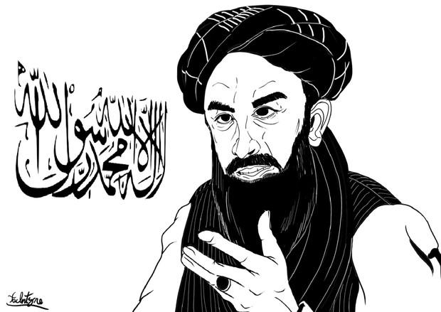 タリバン報道担当ザビフラ・ムジャヒド