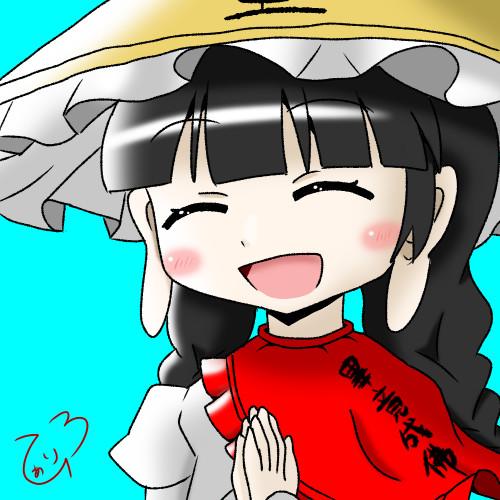笑っている矢田寺成美