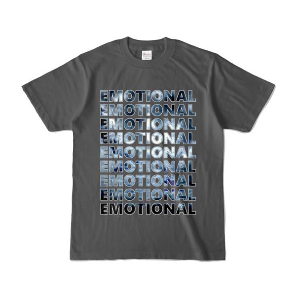 Tシャツ   チャコール   EMOTIONAL☆SKY