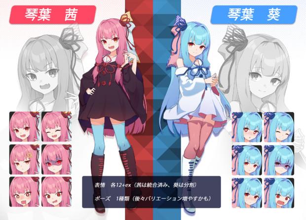 【素材】琴葉姉妹ver1.0【PSⅮ】