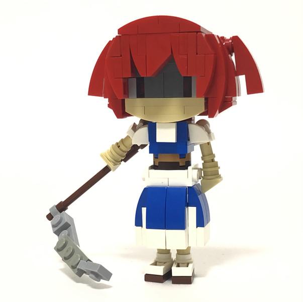 レゴと化した死相姉貴