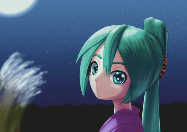 月が綺麗ですね・・・