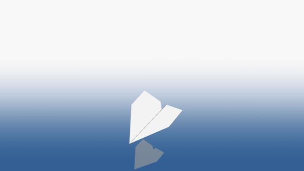 紙飛行機(MMDアクセサリ配布あり)