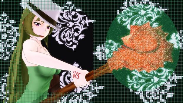 魔法使い的な玲霞さん2【Fate/MMD】