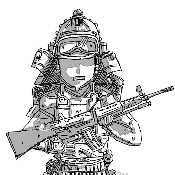 武士×89式小銃