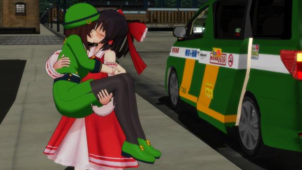 お姫様抱っこされつつキスを…