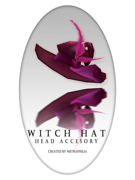 【MMD- アクセサリー】 Witch Hat