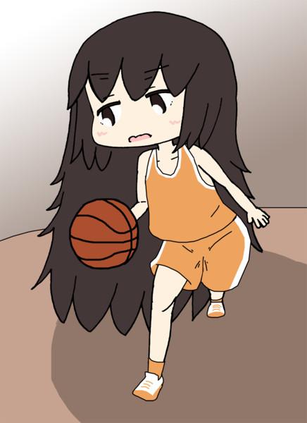 バスケする