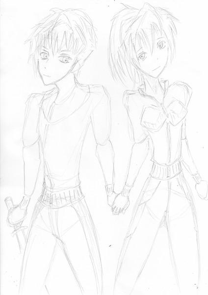 ウツロと真田龍子