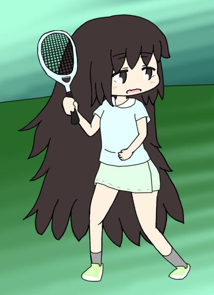 テニスやる