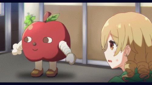 【アニメ】りんごろうと戯れる森久保乃々